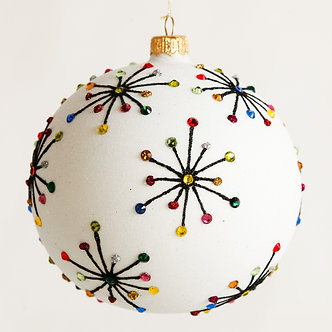 "#1806 - Thomas Glenn ""Sputnik"" Ball Ornament"