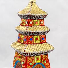 651 - Pagoda - Red