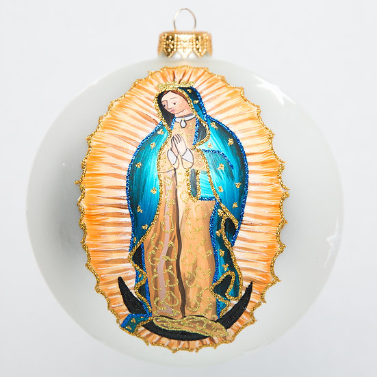 "#1759 - Thomas Glenn ""Holy Mother"" Ball Ornament"