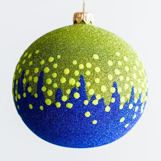 "#1932 - Thomas Glenn ""Cold"" Ball Ornament"