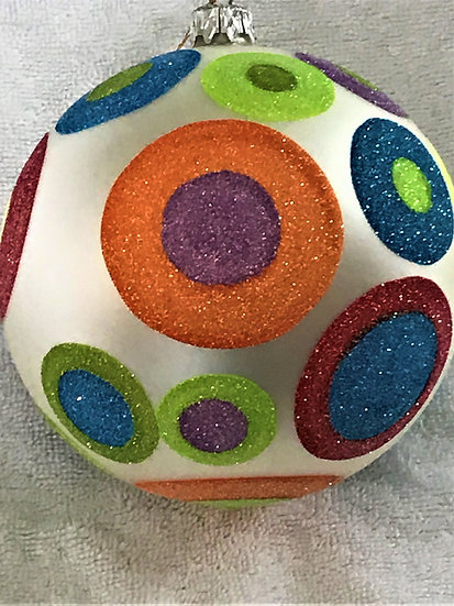 "#769 - Thomas Glenn ""45's"" Ball Christmas Ornament"