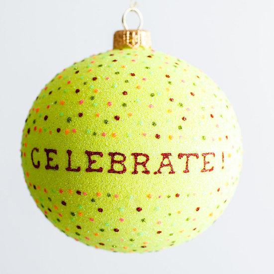 "#1930 - Thomas Glenn ""Celebrate"" Ball Ornament"