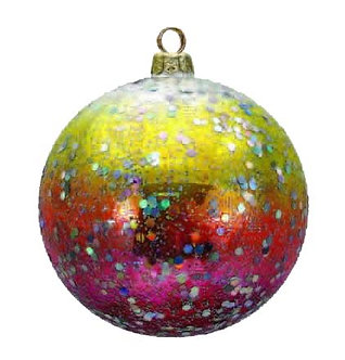 "#14 - Thomas Glenn ""Disco Ball"" Ball Ornament"