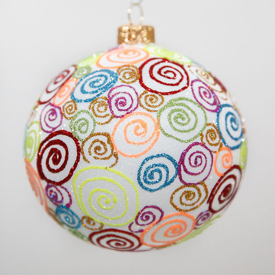 "#2002 - Thomas Glenn ""Office Party"" Ball Christmas Ornament"