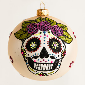 Day of the Dead Ornament by Thomas Glenn Holidays