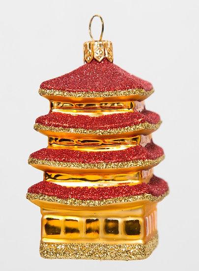 """#501 - Thomas Glenn """"Mini Pagoda"""" Ornament"""