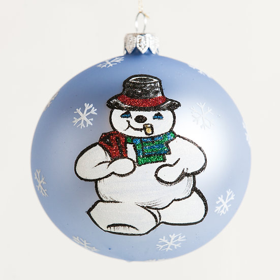 "#1834 - Thomas Glenn ""Special Delivery"" Ball Ornament"