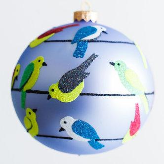 "1912 - Thomas Glenn ""Birds of a Feather"" Ball Ornament"