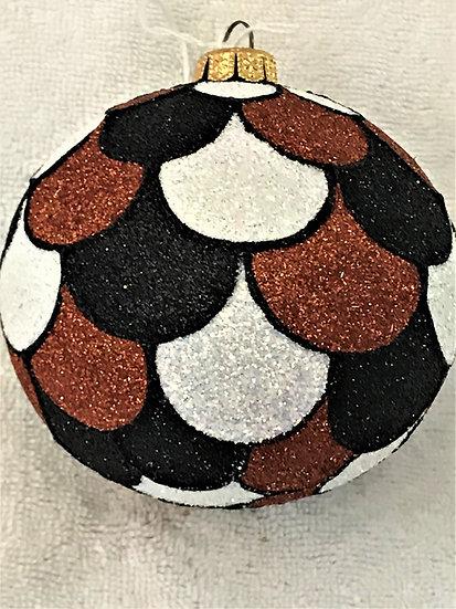 "#1709Dry - Thomas Glenn ""Scales - Dry"" Ball Christmas Ornament"