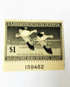 Stamps - United States Duck Stamp - Scott #RW14