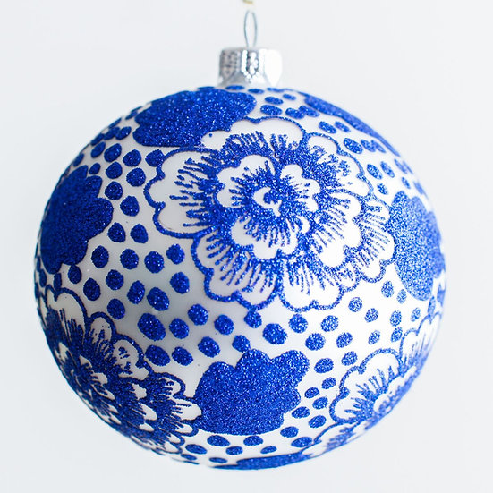 "#1962 - Thomas Glenn ""Chrysanthemum"" Ball Ornament"