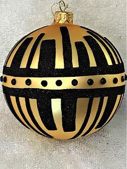 "#1705 - Thomas Glenn ""Industrial"" Ball Christmas Ornament"
