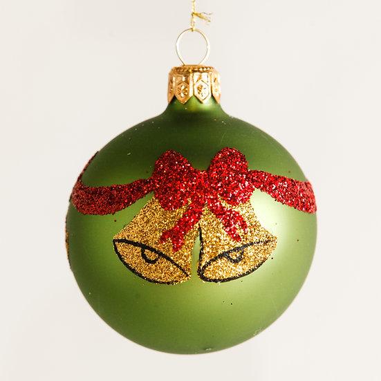"#1868 - Thomas Glenn ""Bells"" Mini Ball Ornament"