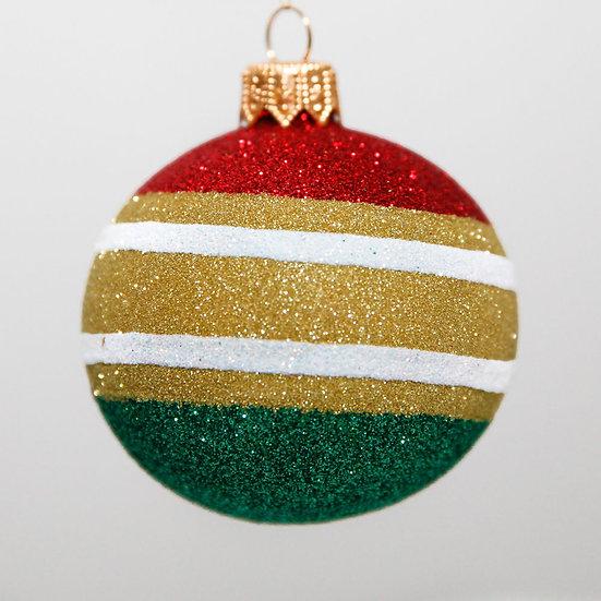"#2086 - Thomas Glenn ""Red Top"" Mini Ball Christmas Ornament"