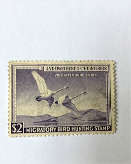 Stamps - United States Duck Stamp - Scott #RW17