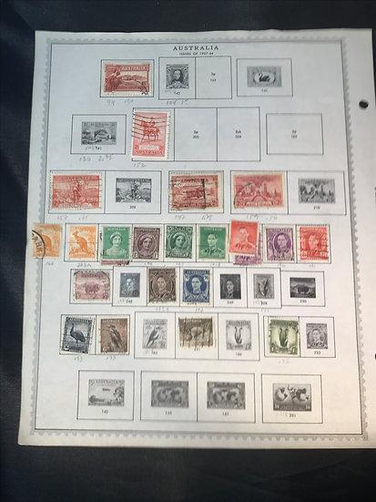 "Stamps ""Australia"" Pre-1961 Collection"
