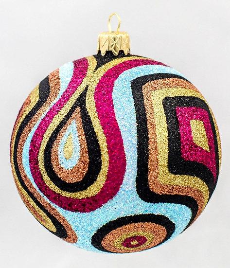 """#367 - Thomas Glenn """"Hot Pink Camo Christmas"""" Ball Ornament"""