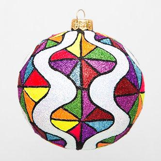 """#1722 - Thomas Glenn """"Fair"""" Ball Ornament"""