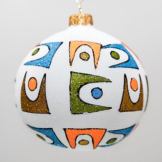"#2043 - Thomas Glenn ""Palm Springs"" Ball Christmas Ornament"