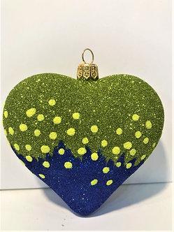 "#1932Heart - Thomas Glenn ""Heart - Cold"" Molded Christmas Ornament"