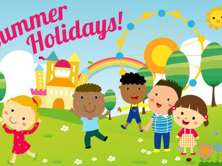 Safe Summer Holidays