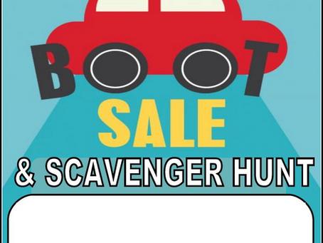 Car Boot / Scavenger Hunt