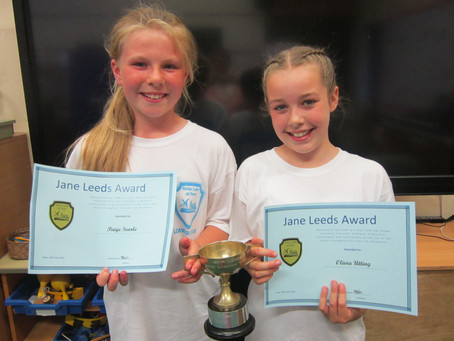 Year 6 Jane Leeds award
