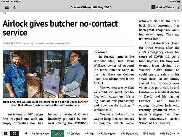 Around the Block Butcher Shop - Ottawa C
