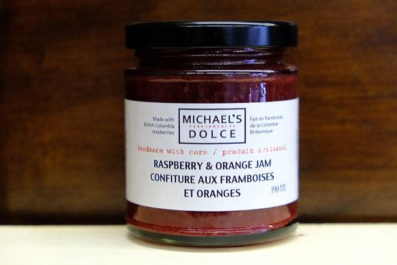 Raspberry & Orange Jam