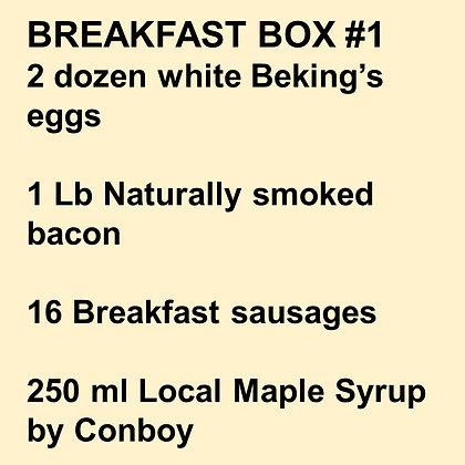 BREAKFAST BOX #1