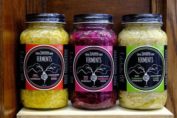 Juniper Farm Ferments Sauerkraut