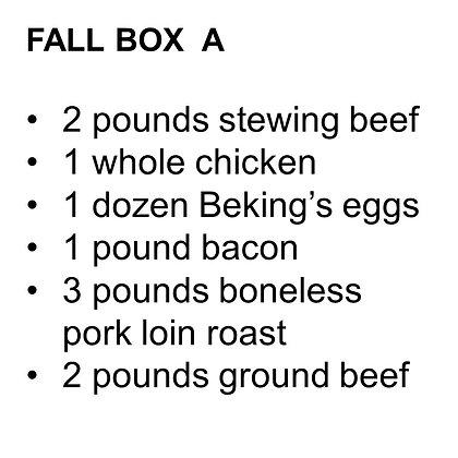 FALL BOX A