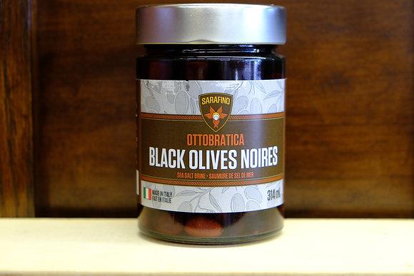 Sarafino Ottobratica Black Olives