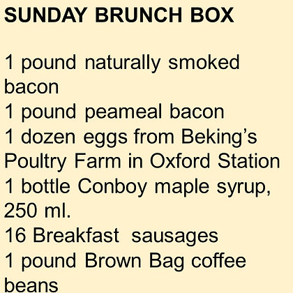 Sunday Brunch BOX