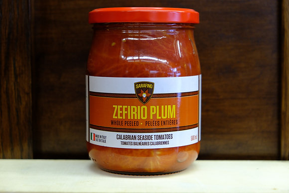 Zefirio Plum Whole Peeled Tomatoes
