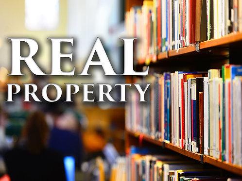 Real Property - PDF