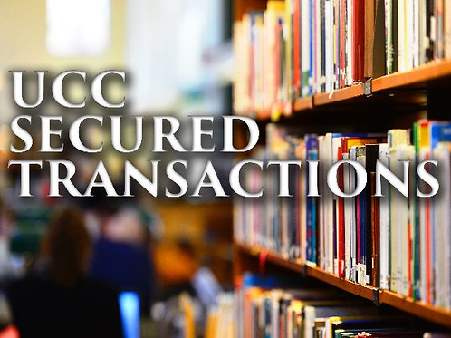 UCC Secured Transactions - PDF