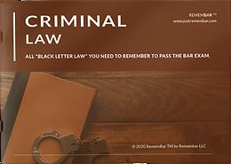 Criminal Law booklet - hardcopy