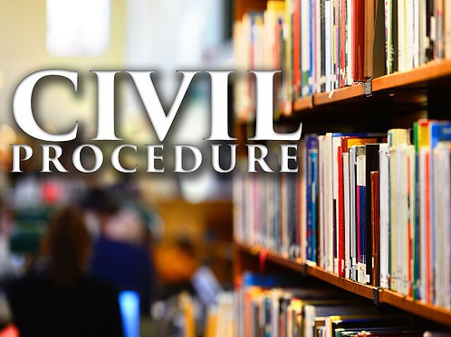 Civil Procedure booklet - PDF