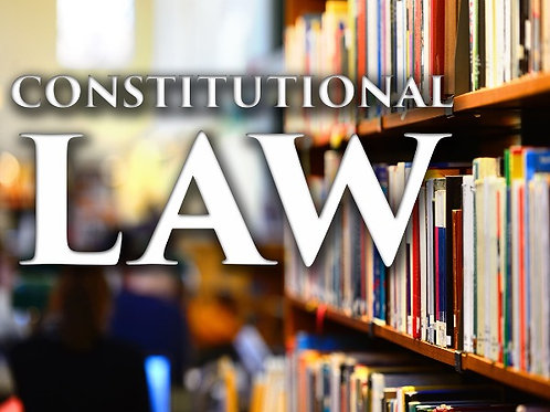 Constitutional Law booklet - hardcopy