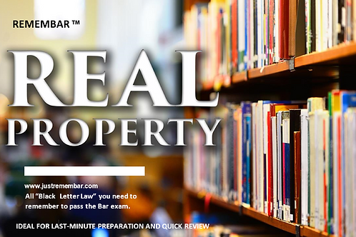 Real Property - Printed Book