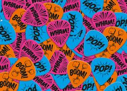 POP WHAM BOOM! PLECTRUMS