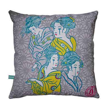 Geisha Cushion