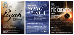 CHORAL POSTERS