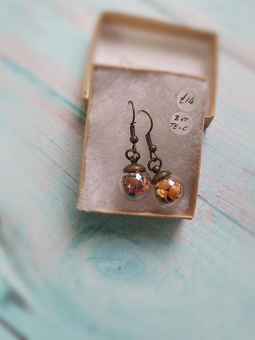 Chilli Seed Terrarium Earrings by Butterfly & Toadstool