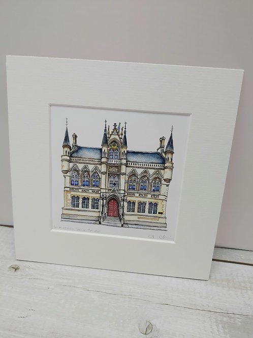 Inverness Town House by Heather Afrin
