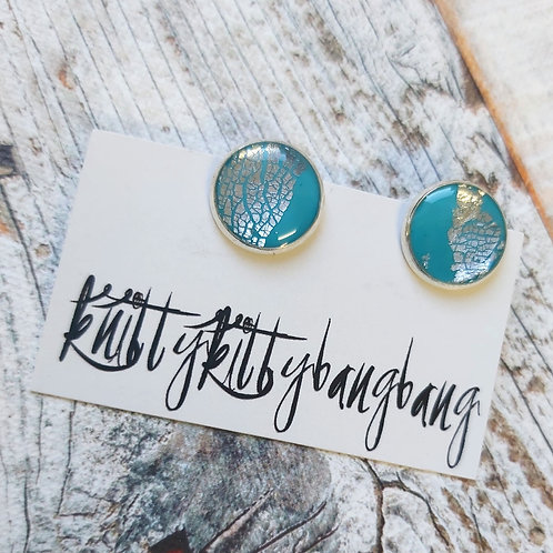 Clip-on Stud Earrings by Knitty Kitty Bang Bang