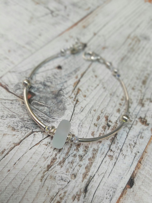 Salka Sea Glass Bracelet