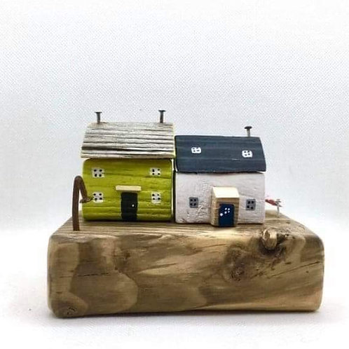 Wee Seaside cottages by Woodies Driftwood