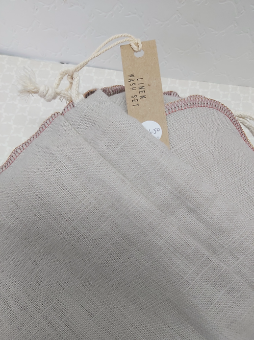 Linen Wash Set Hand-made by Noa Fern